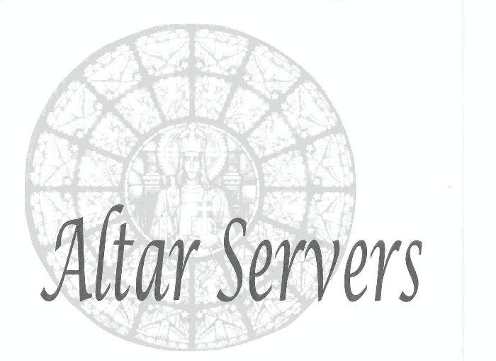 Altar Servers 001